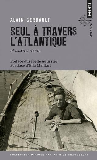 """Couverture du livre """"Seul à travers l'Atlantique"""""""
