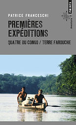 """couverture du livre """"premières expéditions"""" de patrice franceschi"""