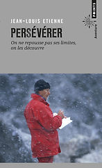 """Couverture du livre """"Persévérer"""""""