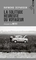 """Couverture du livre """"La solitude heureuse du voyageur"""""""