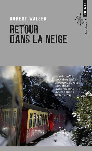 """Couverture du livre """"Retour dans la neige"""""""