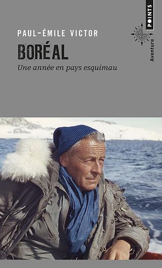 """Couverture du livre """"Boréal"""""""