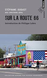 """Couverture du livre """"Sur la route 66"""""""