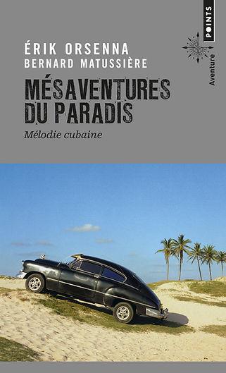 """Couverture du livre """"Mésaventures du paradis"""""""
