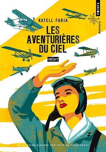"""couverture du livre """"les aventurières du ciel"""""""