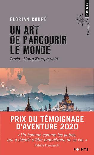 """couverture du livre """"un art de parcourir le monde"""""""