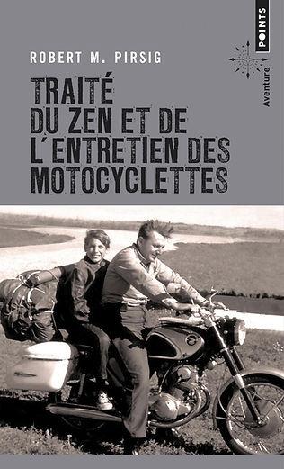 """Couverture du livre """"Traité du zen et de l'entretien des motocyclettes"""""""