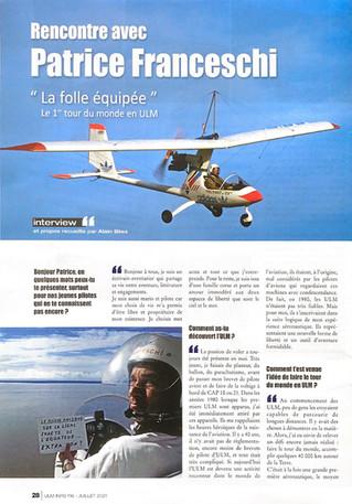 Interview de Patrice Franceschi