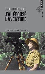 """couverture du livre """"j'ai épousé l'aventure"""""""