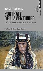 """Couverture du livre """"Portrait de l'aventurier"""""""