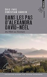 """couverture du livre """"dans les pas d'alexandra david-neel"""""""