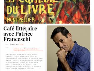 Café littéraire avec Patrice Franceschi