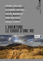 """Couverture du livre """"L'aventure le choix d'une vie"""""""