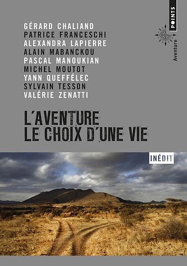 """couverture du livre L""""aventure, le choix d'une vie"""