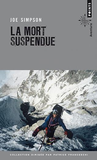"""Couverture du livre """"La mort suspendue"""""""