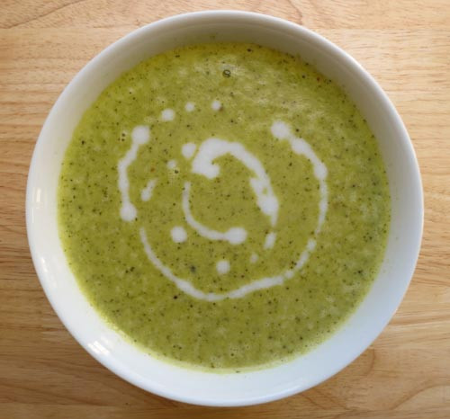 Broccoli Soup Gluten Free with love recipes