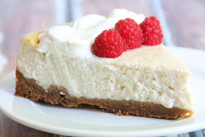 Whipped Vanilla Cheesecake withloverecipes.com