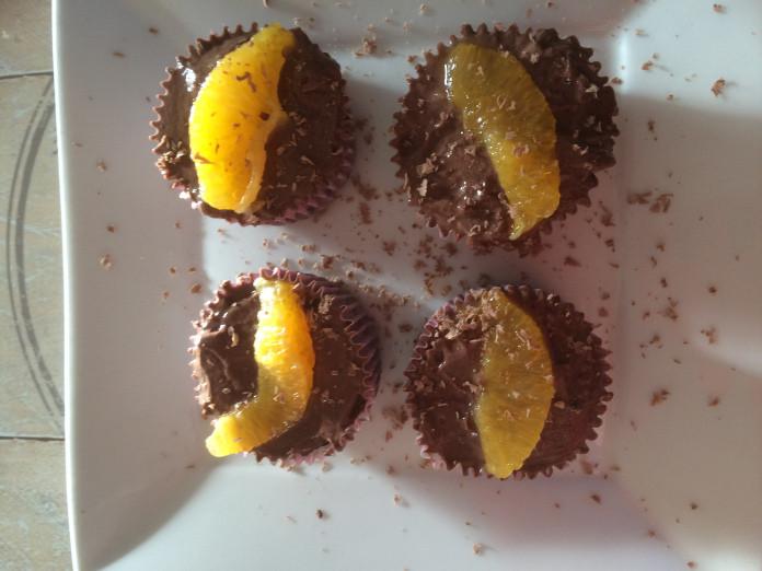 Chocolate Orange Cupcakes withloverecipes.com