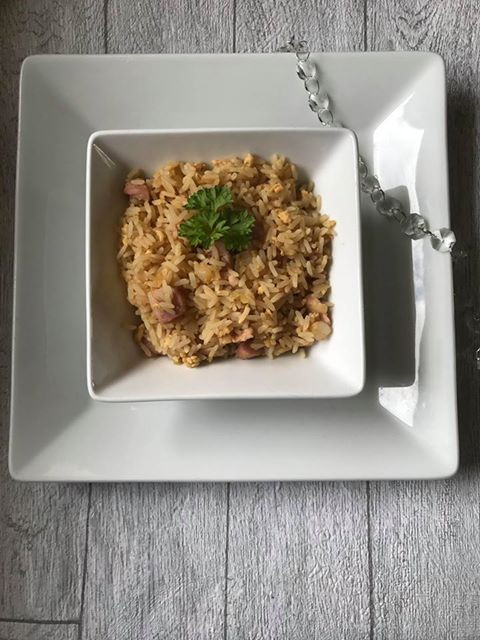 Egg Fried Rice with love recipes