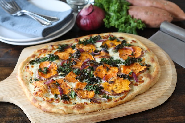Sweet Potato Pizza & Pizza Sauce withloverecipes
