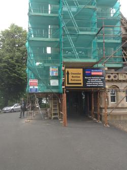 Refurbishment listed building