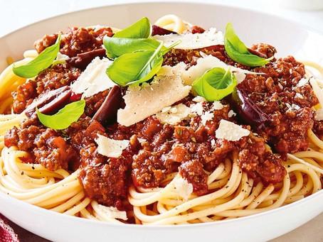 Sensational Spaghetti Bolognese