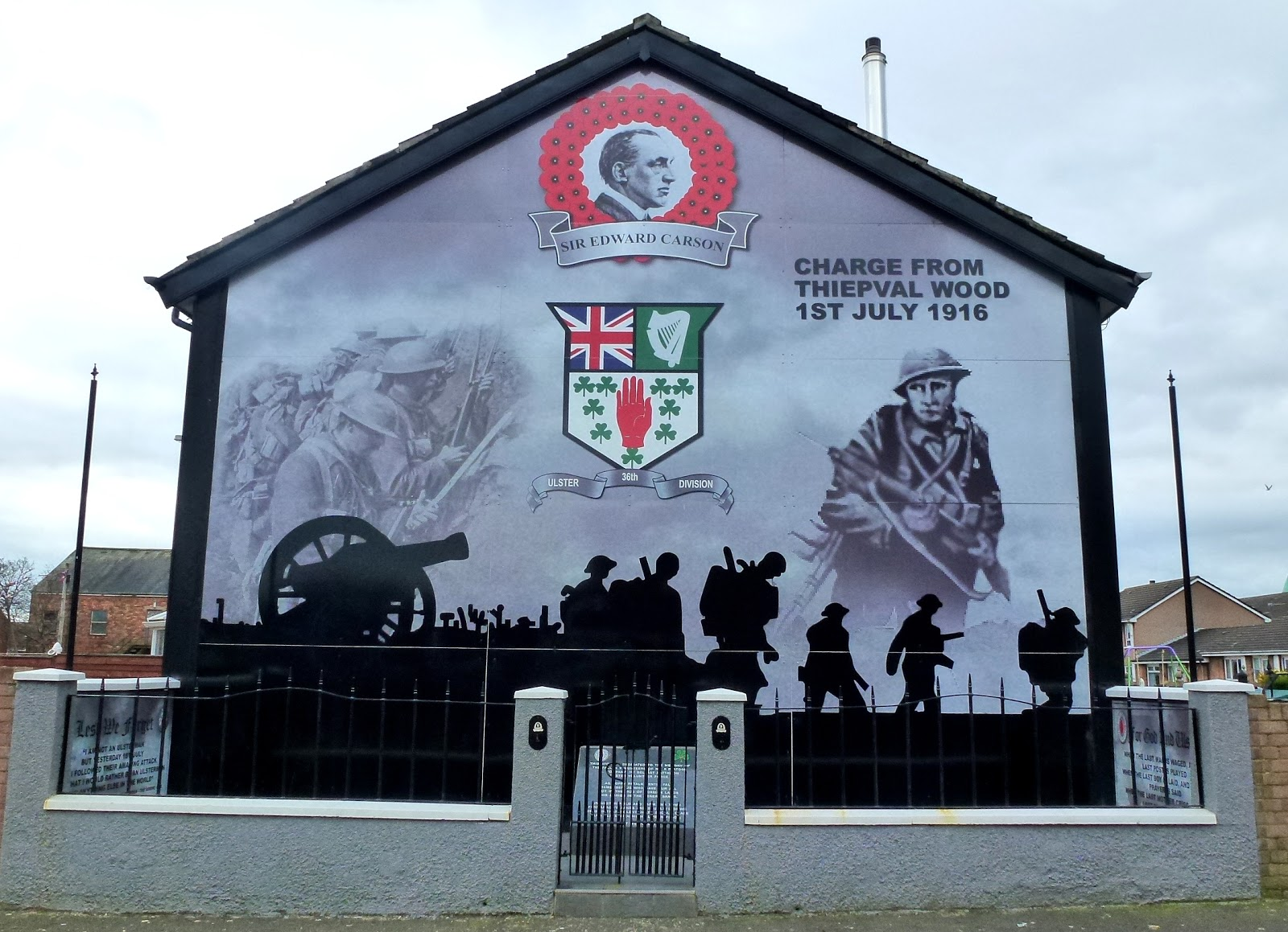 Loyalist murals Big Es taxi Tours
