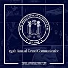 159th Annual Grand Communication