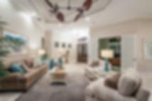 Living Room design, open concept living