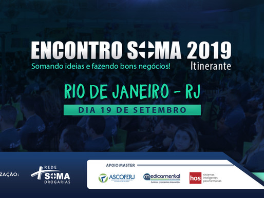 Encontro Soma Itinerante 2019 | Rio de Janeiro - RJ