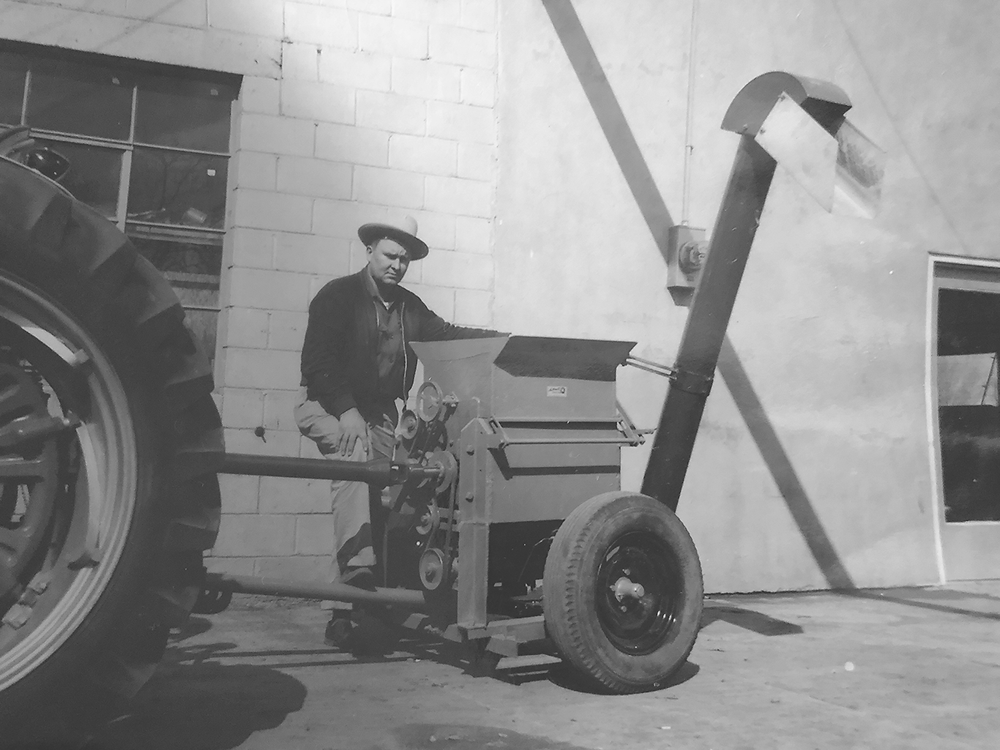 An early Automatic roller mill, taken nearly 100 years ago.