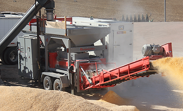 Automatic ATG10000 High Capacity Roller Mill processing livestock feed on a large farm
