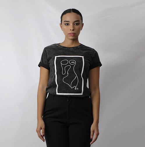 T-shirt Corpo Marmorizada