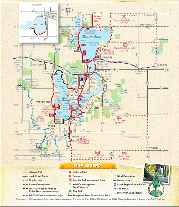 Okoboji Bike Trails