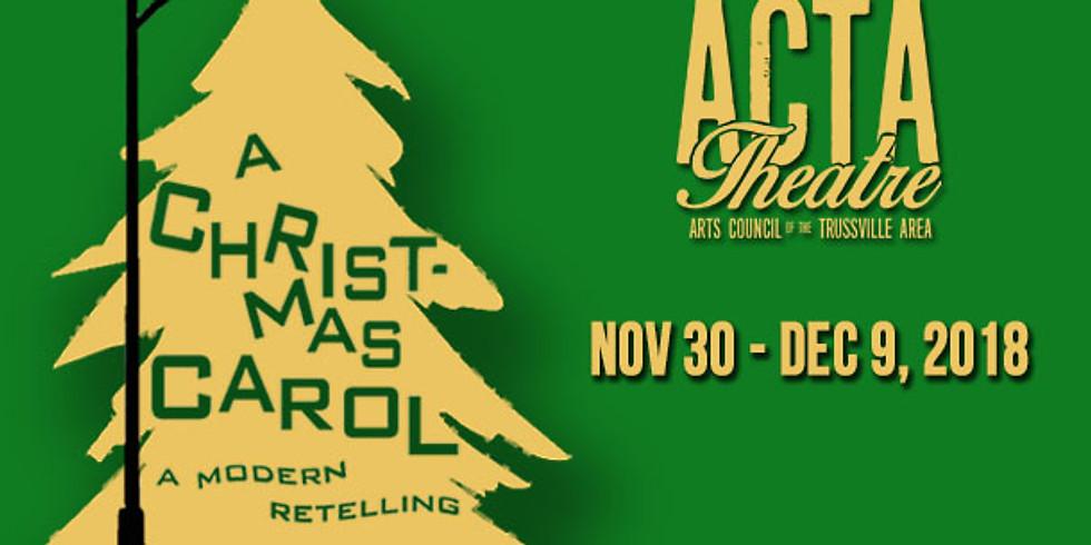 A Christmas Carol - 12/9 @2:30pm