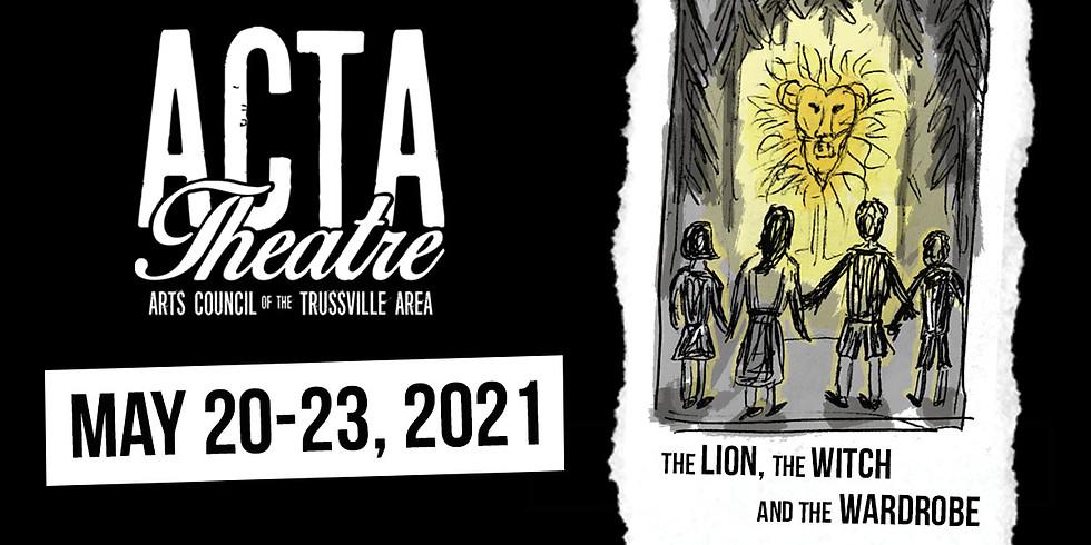 LION WITCH WARDROBE   Sunday, May 23 @ 2:30pm