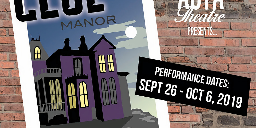 CLUE: On Stage - 10/3 @7pm