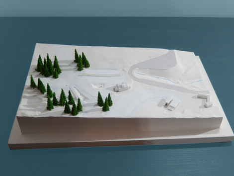 Restructuration de front de neige- Chalmazel