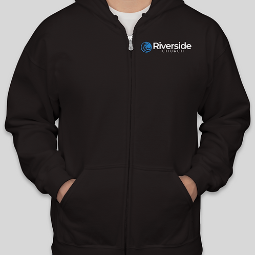Riverside Church Logo Zip Hoodie