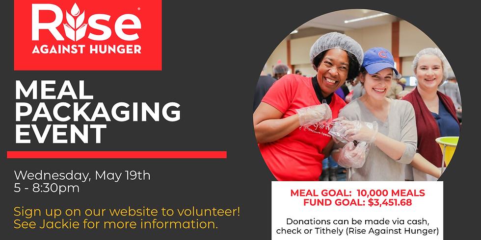 Rise Against Hunger Meal Packing Volunteer