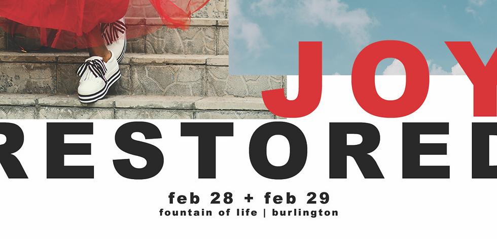 Joy Restored | NJ District Women's Conference