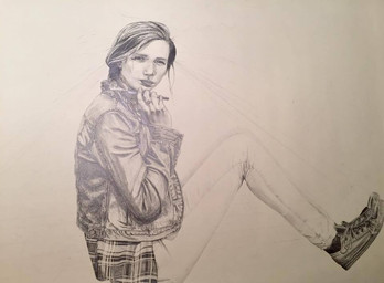 Self portrait - progress