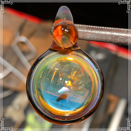 Looking glass amulet