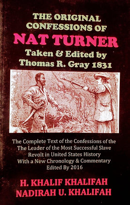 The Original Confessions of Nat Turner