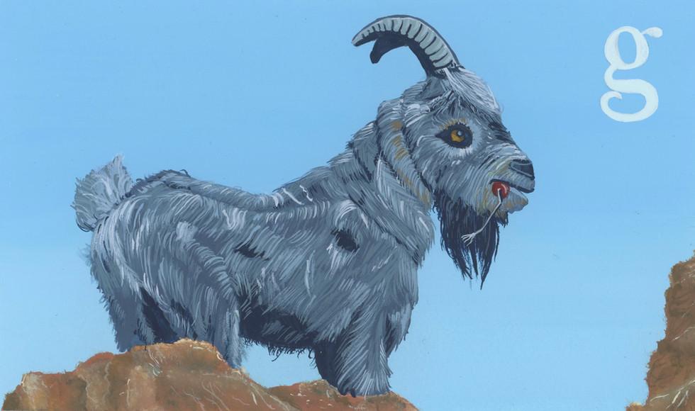 Thunder Mountain Goat
