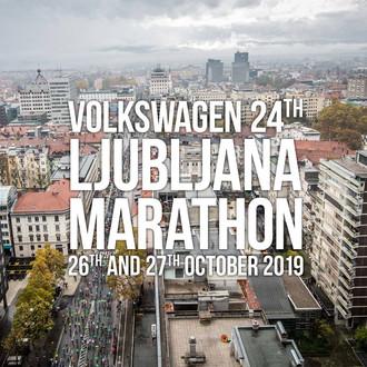 Ljubljanski maraton 2019 - start teka na 42km
