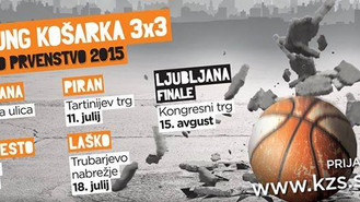 DP PRVENSTVO KOŠARKE 3x3