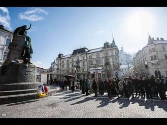 8. 2. 2019   12:00 Združenje dramskih umetnikov Slovenije organizira tradicionalni recital Prešernov