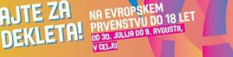 DEKLETA U18 - EU PRVENSTVO 2015