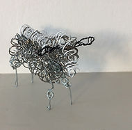 Recycled sheep. Recycled wires.jpg